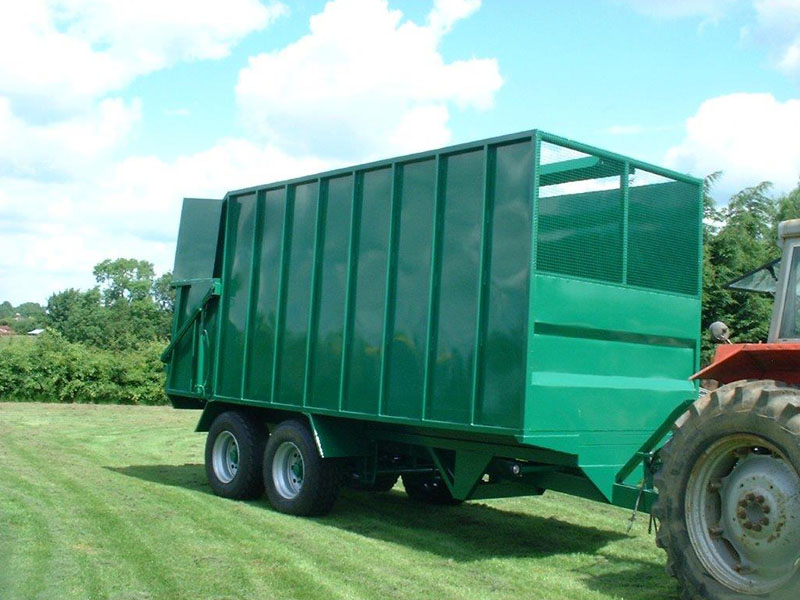 Naturesway 5 Tipping Trailer