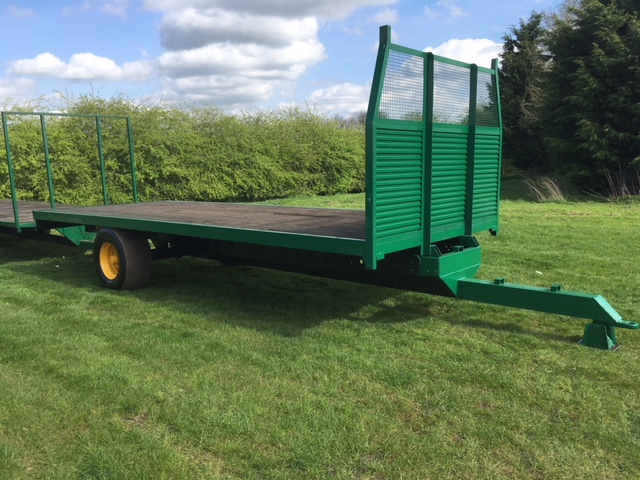 Single Axle Bale Trailer