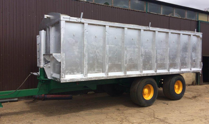 20 tonne Aluminium body grain trailer
