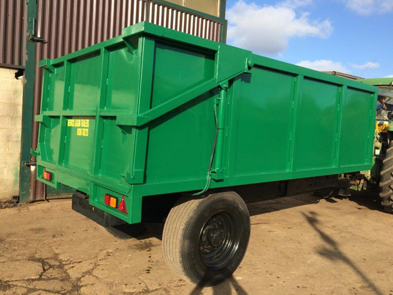 Saunders Siage Tipping Trailer
